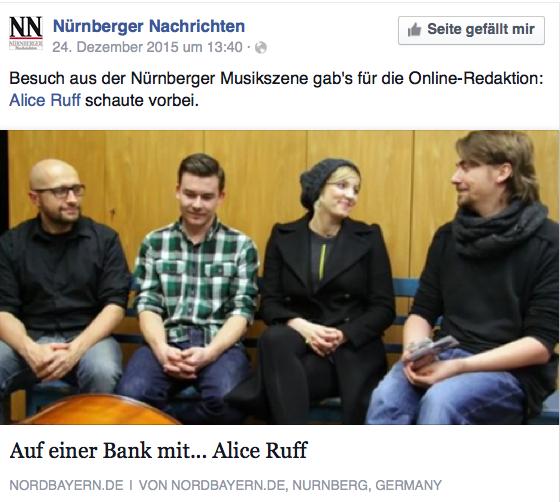 Weihnachtsbesuch @ NÜRNBERGER NACHRICHTEN